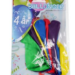 Ballonger - Ballonger 4år