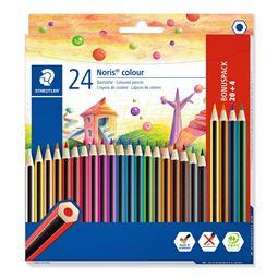 Akvarell/Teckna/Måla - Färgblyertspenna 24st