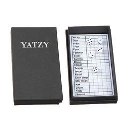 Inredning - Yatzy Låda inkl. Block & Tärningar