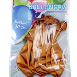 Ballonger - Ballonger Metallic Guld