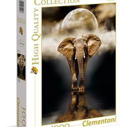 1000 - Pussel 1000 Elefant