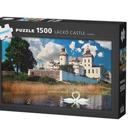1500 - Pussel 1500 Läckö Slott