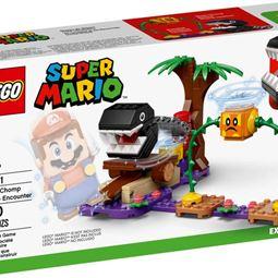 Super Mario - Super Mario Chain Chomp Jungle Encounter