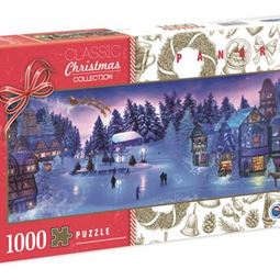 1000 - Pussel 1000 Panorama Christmas Dream
