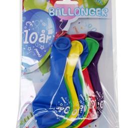 Ballonger - Ballonger 10år