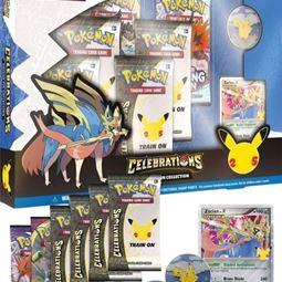 Kortspel - Pokemon 25th Celebrations Deluxe Pin Collection