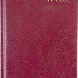Årsbundet - Dagbok Röd