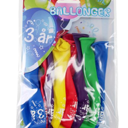 Ballonger - Ballonger 3år