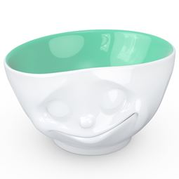 """Tassen Porslin - Skål """"Happy"""" Jade 500ml"""
