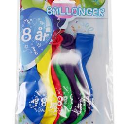 Ballonger - Ballonger 8år