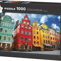1000 - Pussel 1000 Stockholm