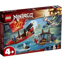 Ninjago - Ninjago Sista Flygturen Med Ödets Gåva