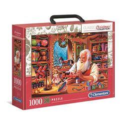1000 - Pussel 1000 Santa Workshop