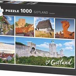 1000 - Pussel 1000 Gotland