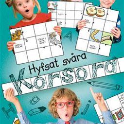 Pyssel/Målarböcker - Hyfsat Svåra Korsord