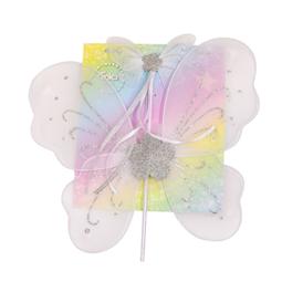 Smycken/smink/klänningar - Fjärilsvingar Med Stav Rosa