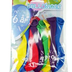 Ballonger - Ballonger 6år