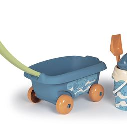 Leksaker - S-Green Garnished Beach Cart