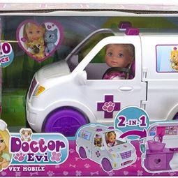 Leksaker - EL Doctor Evi 2-in-1 Vet Mobile